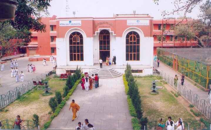 Top view of GCW parade Building