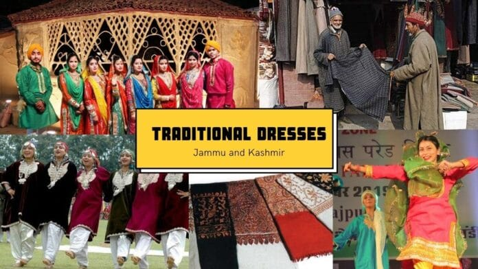 Traditional Dress in Jammu and Kashmir